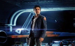 Wallpaper Action, Sci-Fi, Hux, Ligthning, The, Finn, Kylo Ren, Carrie Fisher, Luke, Warriors, Star Wars: The ...