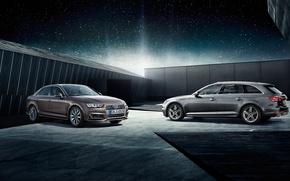 Picture audi, wall, Audi A4, new audi