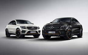Picture background, Mercedes, Mercedes, AMG, crossover, C292, GLE-Class