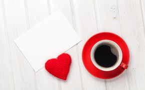 Picture cup, Cup, heart, Valentine's Day, hearts, love, coffee, romantic, coffee, wood, love