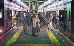 Picture people, metro, anime, just because!