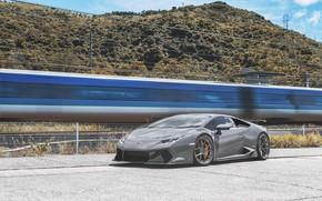 Picture Lamborghini, Train, VAG, Huracan, Graphite