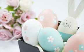 Picture eggs, Easter, socket, Holiday