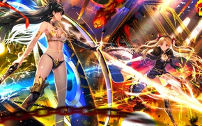 Picture Girls, The battle, Weapons, Fate / Grand Order, The destiny of a great campaign