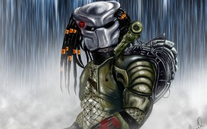 Picture predator, alien, Predator