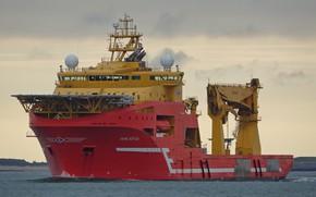 Picture sea, ship, VIKING NEPTUN