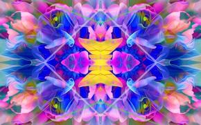 Picture fantasy, symmetry, delicate colors