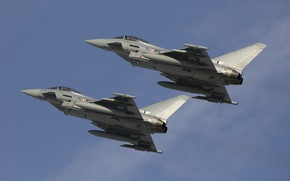 Picture multi-role fighter, Typhoon, Eurofighter