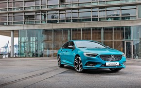 Picture Opel, blue, Insignia Grand