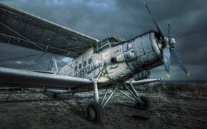 Wallpaper the plane, An-2, Antonov