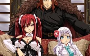 Picture game, anime, asian, manga, japanese, Fairy Tail, oriental, asiatic, mahou, 006