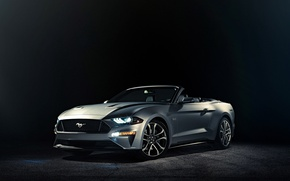 Picture background, Ford, Mustang, convertible, Ford