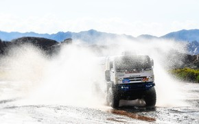 Picture Sport, Speed, Truck, Master, Squirt, Russia, 500, Kamaz, Rally, Dakar, KAMAZ-master, Dakar, Rally, KAMAZ, The ...