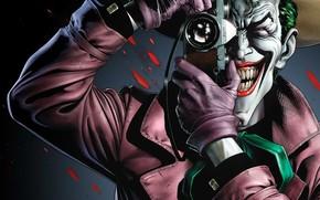 Wallpaper Blood, Teeth, Smile, Teeth, Villain, Villain, Joker, Comics, Gloves, Blood, DC Comics, Comic, Batman: The ...