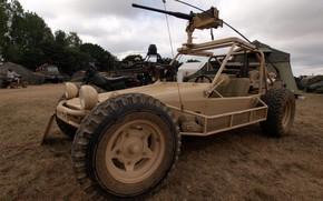 Wallpaper machine gun, Chenowth, motorbike, Chenowth Advanced Light Strike Vehicle