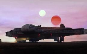 Picture Star wars, Star wars, Joseph Diaz, The Moment, Millenium falcon