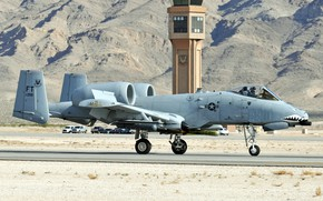 Picture Thunderbolt II, A-10C, twin-engine attack aircraft