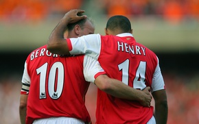 Picture Arsenal, The Gunners, The gunners, theirry-henry, dennis-bergkamp