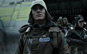 Picture cinema, gun, robot, weapon, alien, movie, film, rifle, Michael Fassbender, UFO, OVNI, Alien: Covenant, Alien: …