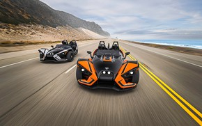 Picture beautiful, comfort, hi-tech, Polaris, Slingshot, technology, sporty, tricycle, 016