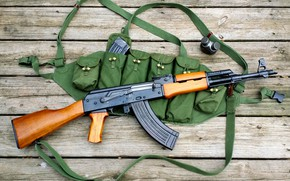 Picture machine, AK-47, Kalash