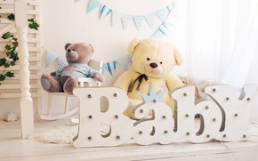 Picture toys, interior, Baby, Room, children's room