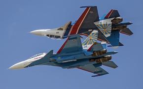 Picture Sukhoi, Flanker, Su-30SM