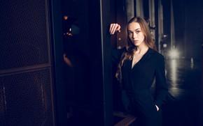 Picture look, pose, model, dress, long hair, FotoMėgėjas, Simona Naujokaitė