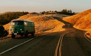 Wallpaper Road, Volkswagen, CA, Car, San Francisco