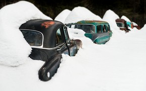 Picture snow, machine, scrap