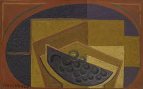 Picture cubism, Black grapes, Juan Gris, 1923