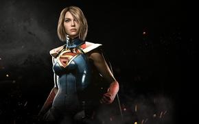 Picture game, fighting, Supergirl, NetherRealm Studios, Injustice 2, Kara Zor-el