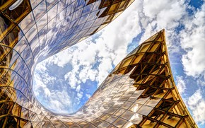 Picture clouds, the building, architecture, Sweden, shopping center, Malmo, Emporia shopping center