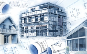 Picture design, architecture, Construction, engineering, plans, projects