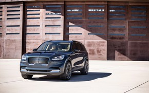 Picture Lincoln, front view, Aviator, 2019