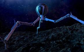 Picture space, stars, camera, clone wars, tri droid reimagined