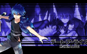 Picture anime, art, guy, Date a Live