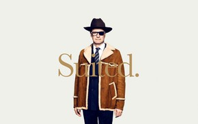 Picture background, hat, glasses, costume, poster, Colin Firth, Colin Firth, sheepskin, Kingsman: The Golden Circle, Kingsman: …