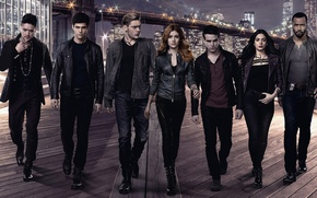 Picture look, actors, the series, go, Movies, Shadowhunters, Shadowhunters