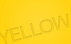 Picture text, letters, yellow, color, yellow, the word