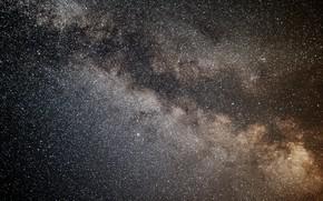 Wallpaper stars, night, the vastness, the milky way
