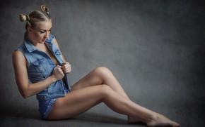 Picture shorts, legs, sponge, Ilya * Filimoshin