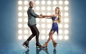 Picture ice, girl, show, male, skates, Dancing On Ice, Alex Beresford