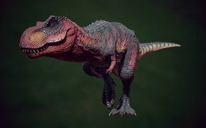Picture dinosaur, art, T-REX, Henrique Naspolini