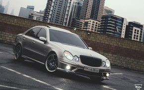 Picture Mercedes-Benz, AMG, E55