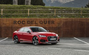 Picture AUDI, RS5, RED, 2017