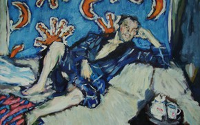 Picture the moon, man, looks, 2011, in a Bathrobe, Peter Petyaev