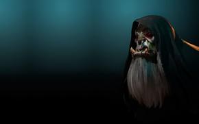 Picture fantasy, rendering, art, Orc, anton jukov