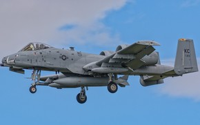 Picture aviation, A-10C Thunderbolt II, combat aircraft, winged machine