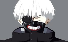 Picture anime, boy, assassin, asian, mask, manga, japanese, oriental, asiatic, strong, Tokyo Ghoul, Ken Kanek, hitokiri, …
